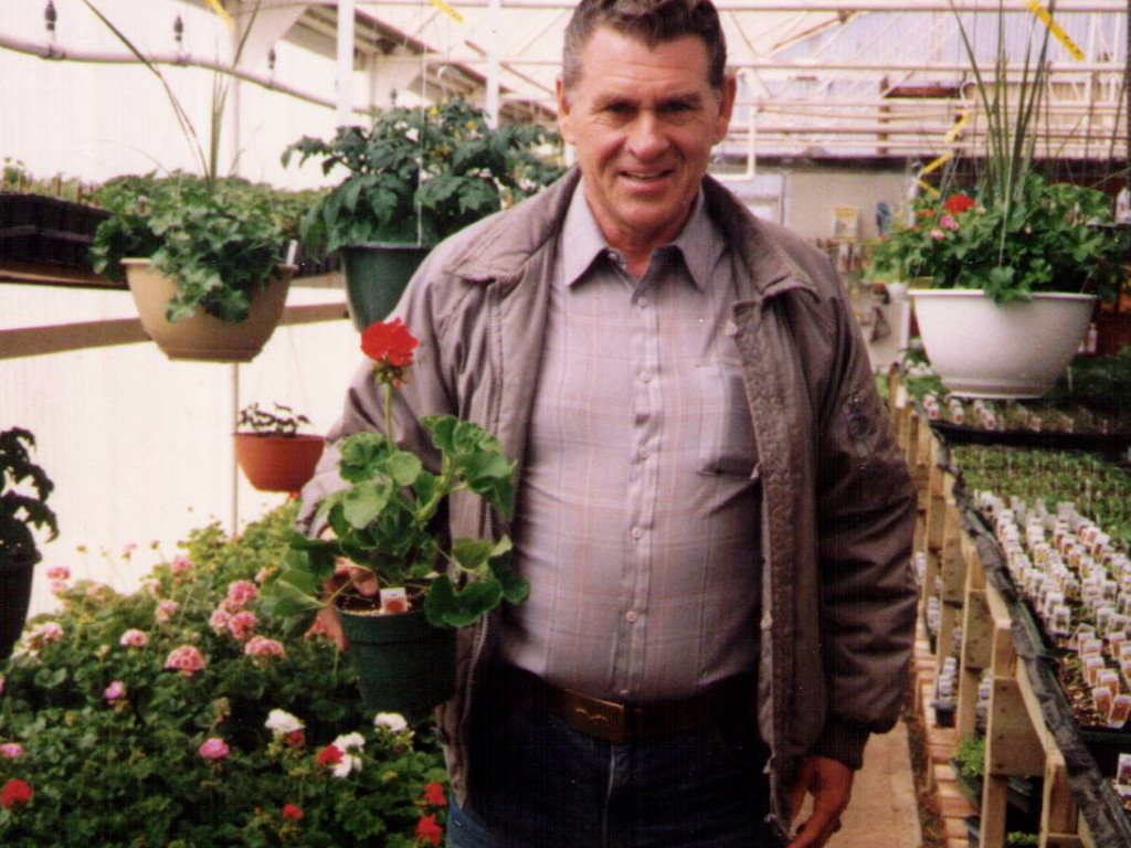 Irv In The Greenhouse 1986.